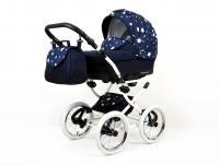 BabyMove Margarita White Navy Blue Star
