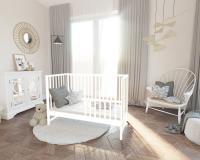 Bobas Magda babaágy/heverő fehér